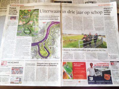 Hemelrijkse Waard in het Brabants Dagblad