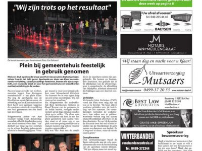 Project Hoofdstraten & dorpsplein Best geopend