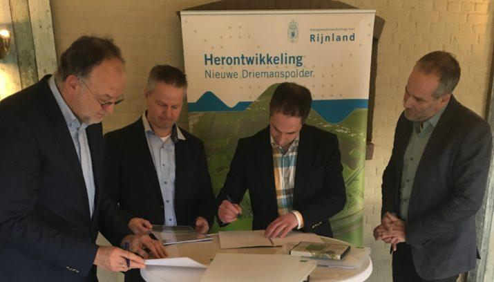 Dijkencombi start met aanleg Nieuwe Driemanspolder