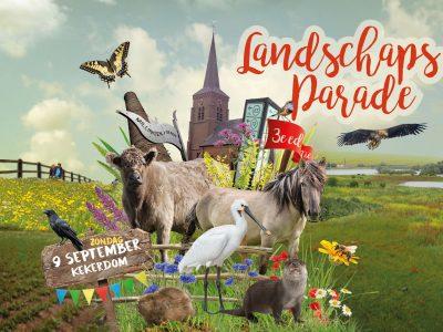 Kom zondag 9 september naar de Landschapsparade Millingerwaard!