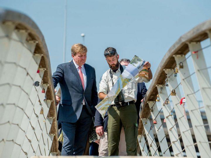 Koning bezoekt Stadswaard in Nijmegen