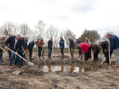Gebiedspartners starten samen de werkzaamheden aan het Peelkanaal in Mill